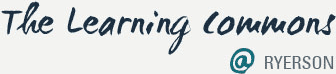 The Learning Commons Logo